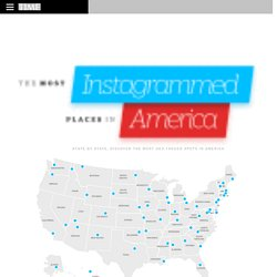 The 50 Most Instagrammed Places in America
