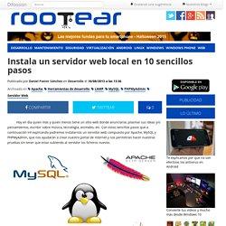 Instala un servidor web local en 10 sencillos pasos