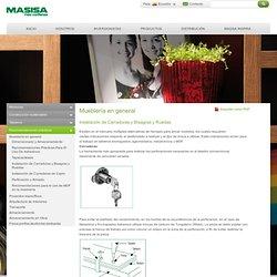 Mueblería en general - Instalación de Cerraduras y Bisagras y Ruedas