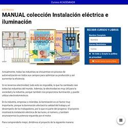 MANUAL colección Instalación eléctrica e iluminación