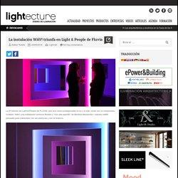 La instalación WAV! triunfa en Light & People de Fluvia