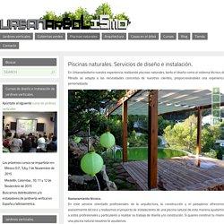 Piscinas naturales. Servicios de diseño e instalación. - Urbanarbolismo