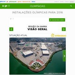Instalações olímpicas para 2016