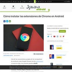 Cómo instalar las extensiones de Chrome en Android
