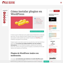 Cómo instalar Plugins en WordPress
