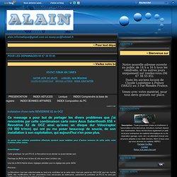 Instalation d'une carte REVODRIVE X2 de OCZ - Le blog de Association Lorraine Aide Informatique Nancéienne