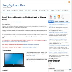 Install Ubuntu Linux Alongside Windows 8 in 10 easy steps