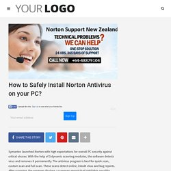 How to Safely Install Norton Antivirus on your PC? - Norton Support NZ