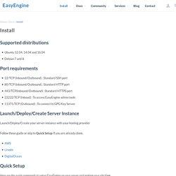 Install - EasyEngine