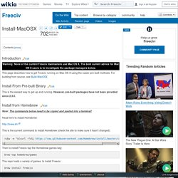 Install-MacOSX - Freeciv - Wikia