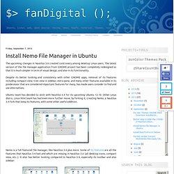 Install Nemo File Manager in Ubuntu
