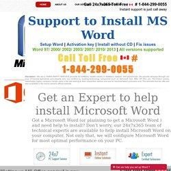 Word com setup