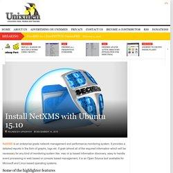 Install NetXMS with Ubuntu 15.10