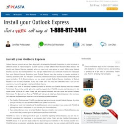 Install your Outlook Express Support at 1-888-817-3484 Toll free Number - O