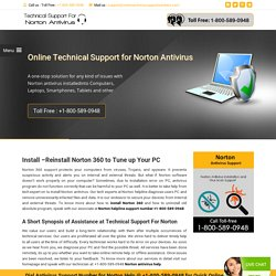 1800-746-3915 How to install, Reinstall Norton 360 Antivirus