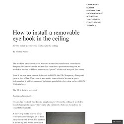 how to get into the ceiling australia