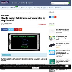 How to Install Kali Linux on Android step by step Tutorial