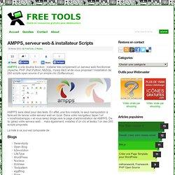 AMPPS, serveur web & installateur Scripts