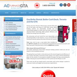 ACfurnaceGTA - Experts In The Boiler Installation Process