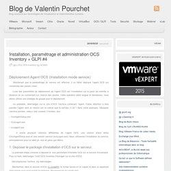 » Installation, paramétrage et administration OCS Inventory + GLPI #4 Blog de Valentin Pourchet