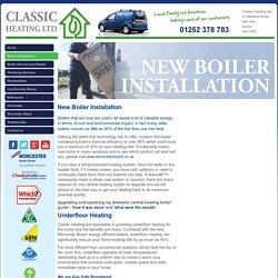 New Boiler Installation & Upgrading Basingstoke, Underfloor Heating Ash Vale