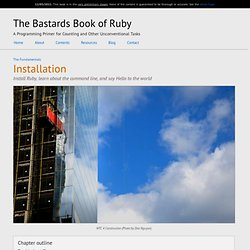 The Bastards Book of Ruby