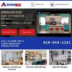American Icon, cabinet installation services Calabasas CA