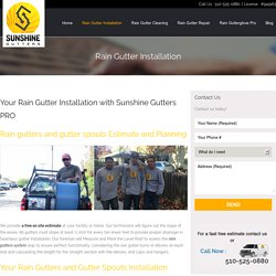 Best Rain Gutters Services in California