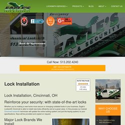 513-202-4240 Lock installation in Cincinnati, OH