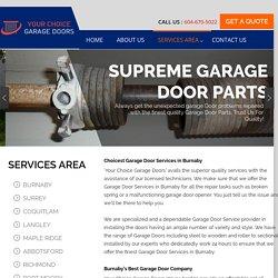 Garage Door Repair and Installation Company Burnaby