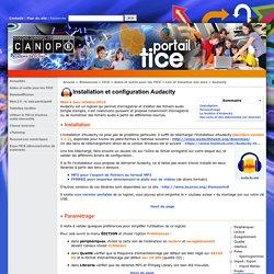 Installation et configuration Audacity