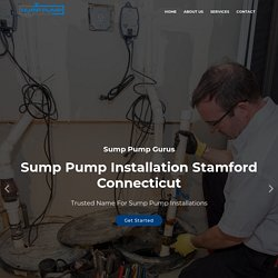 Sump Pump Installation Stamford Connecticut