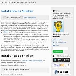 Installation de Shinken