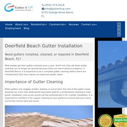 Gutter Repair Deerfield Beach