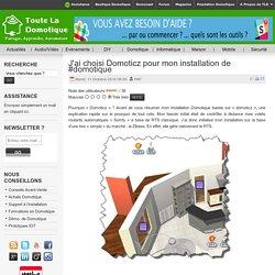 J'ai choisi Domoticz pour mon installation de #domotique
