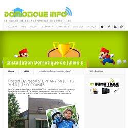 Installation Domotique de Julien S