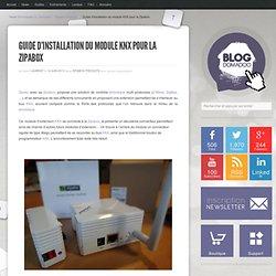 Guide d'installation du module KNX pour la Zipabox