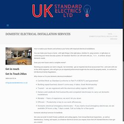 Commercial Electrician South Wales-Ukstandardelectrics