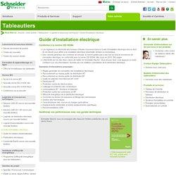 Guide d'installation électrique - Schneider Electric