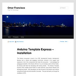 Arduino Template Express - Installation