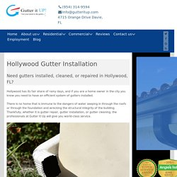 Gutters Hollywood