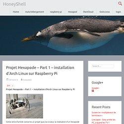 Projet Hexapode – Part 1 – installation d'Arch Linux sur Raspberry Pi