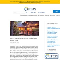 Outdoor Lighting Installation and Inspection