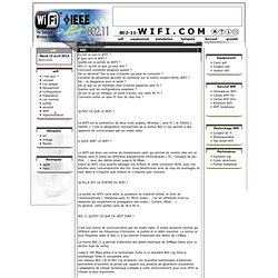 installation wifi, guide wifi, installer son reseau