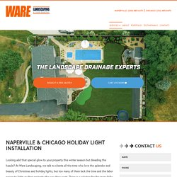 Holiday Lighting Installation Services in Naperville