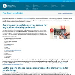 Fire Alarm Installation Cheshire, Liverpool & Wirral