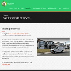 Boiler Repair - Boiler Installation, Boiler Maintanence Services