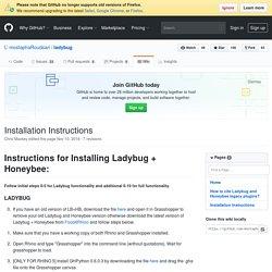 Installation Instructions · mostaphaRoudsari/ladybug Wiki
