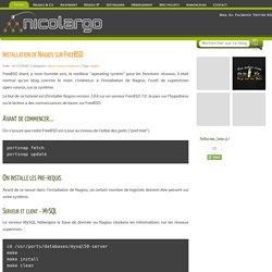 Installation de Nagios sur FreeBSD