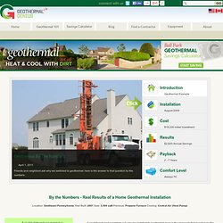 Geothermal Installation by the Numbers in Pennsylvania | Geothermal Genius